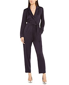 Belted Woven Jumpsuit