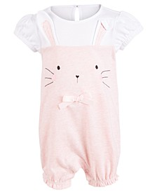 Baby Girls Bunny Sunsuit, Created For Macy's