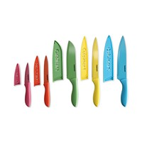 Deals on Cuisinart 10-Pc. Ceramic-Coated Cutlery Set with Blade Guards