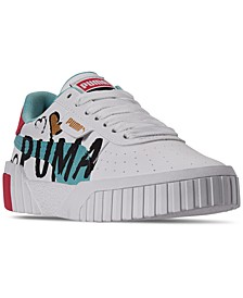 Girls Cali Novelty Casual Sneakers from Finish Line