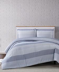 Multi Stripe Twin XL Comforter Set
