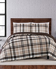 Paulette Plaid King Quilt Set