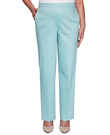 Cottage Charm Sateen Pull-On Pants