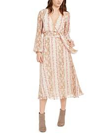 Leena Snake-Print Dress