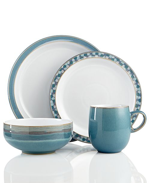 Denby Dinnerware Azure Collection Dining Entertaining Macy S