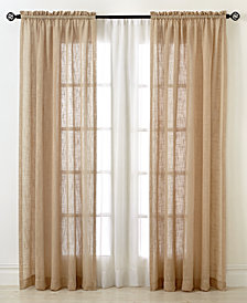"CLOSEOUT! Miller Curtains Sheer Kemin 52"" x 84"" Panel"