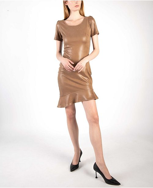 VHNY Cut Out New Yorker Dress