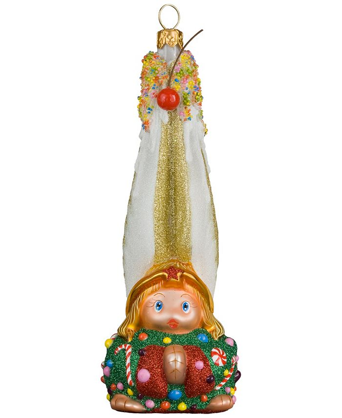 Joy to the World - Glitterazzi Gnome Sweet Gnome Angel