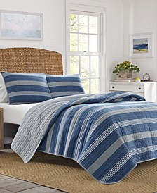 Saltmarsh Full/Queen Quilt Set