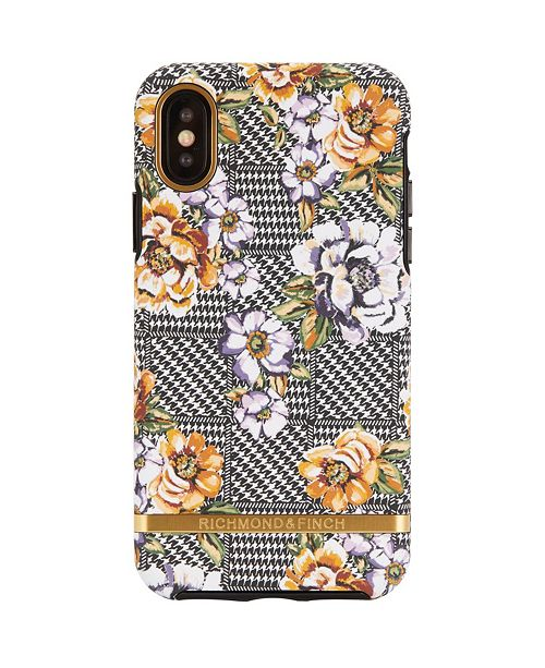 Richmond&Finch Floral Tweed Case for iPhone X and Xs