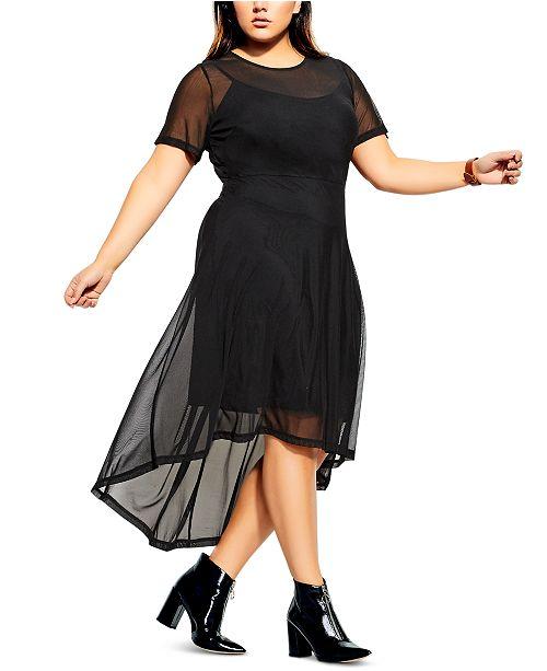 City Chic Trendy Plus Size Eternal Dress