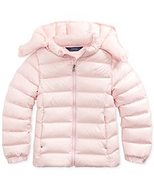 Big Girls Quilted Down Jacket