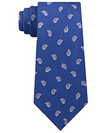 Men's Small Pines Silk Tie
