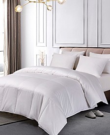 Pima Cotton European White Down Comforter, Twin