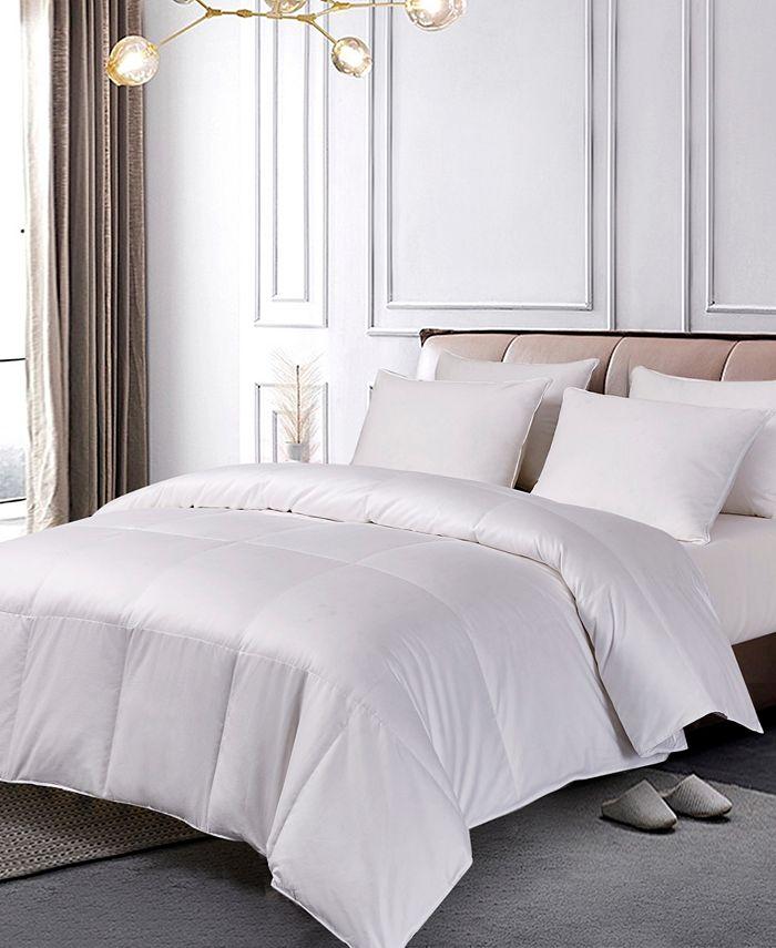 Blue Ridge - Pima Cotton European White Down Comforter Twin