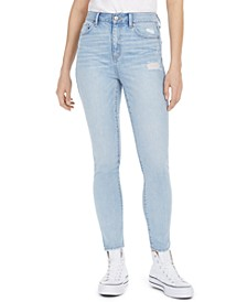 Juniors' The Wedge Super-High-Rise Skinny Jeans