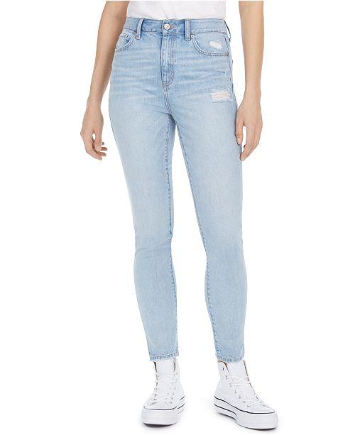 Rewash Juniors' The Wedge Super-High-Rise Skinny Jeans