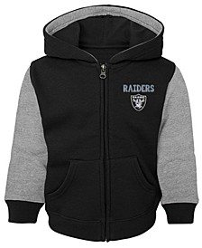 Baby Oakland Raiders Stadium Full-Zip Hoodie