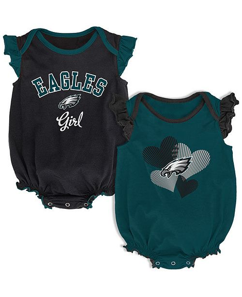 Outerstuff Baby Philadelphia Eagles Celebration Bodysuit Set