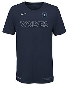 Big Boys Minnesota Timberwolves Facility T-Shirt