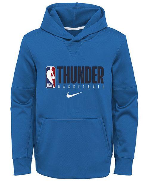 Nike Big Boys Oklahoma City Thunder Spotlight Hoodie