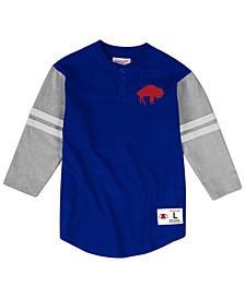 Men's Buffalo Bills Team Logo Henley Top