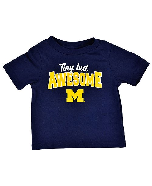Outerstuff Baby Michigan Wolverines Tiny But Awesome T-Shirt