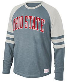 Men's Ohio State Buckeyes Slub Long Sleeve T-Shirt