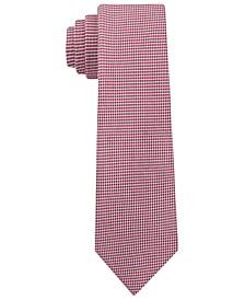 Men's Micro Squares Skinny Silk Tie