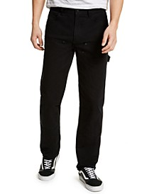 SUN + STONE Men's Rowland Relaxed Fit Carpenter Pants, Created For Macy's