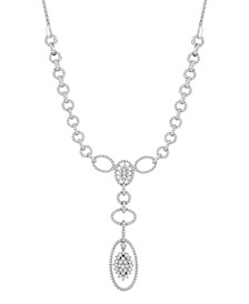 Diamond (2 ct. t.w.) Link Necklace in 14k White Gold