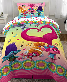 Trolls Twin 4-Piece Bed in a Bag