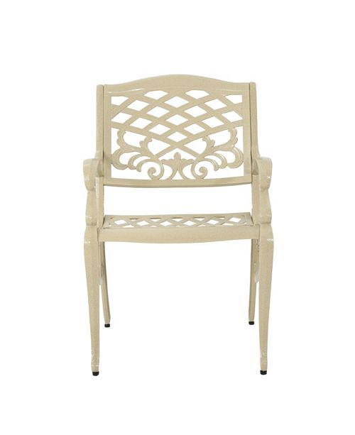 Noble House Phoenix Outdoor Dining Chair (Set of 2)