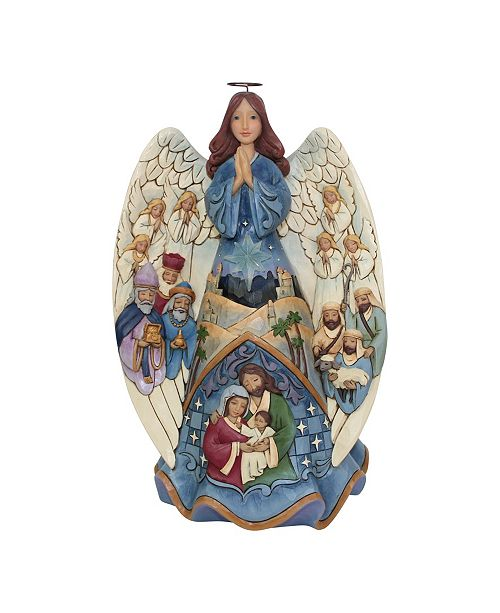 Enesco Lighted Nativity Angel Musical