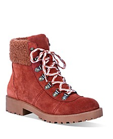 Women's Telluride Leather Lug Sole Boot