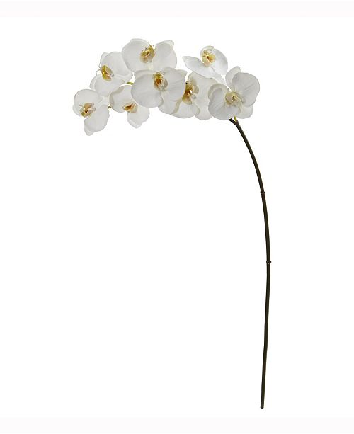 Nearly Natural 35in. Phalaenopsis Orchid Artificial Flower Set of 6