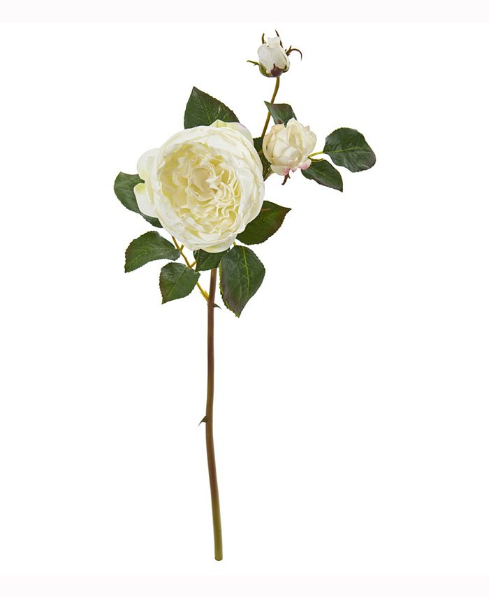 Nearly Natural - 22in. Rose Artificial Flower Set of 6