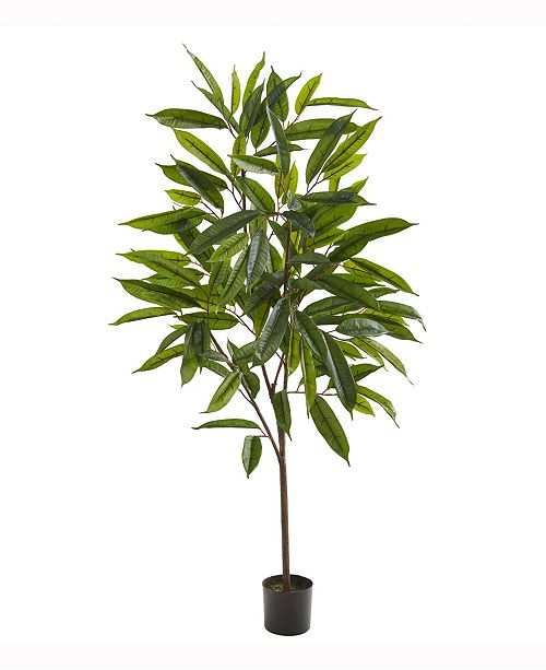 Nearly Natural 52in. Long Leaf Ficus Artificial Plant