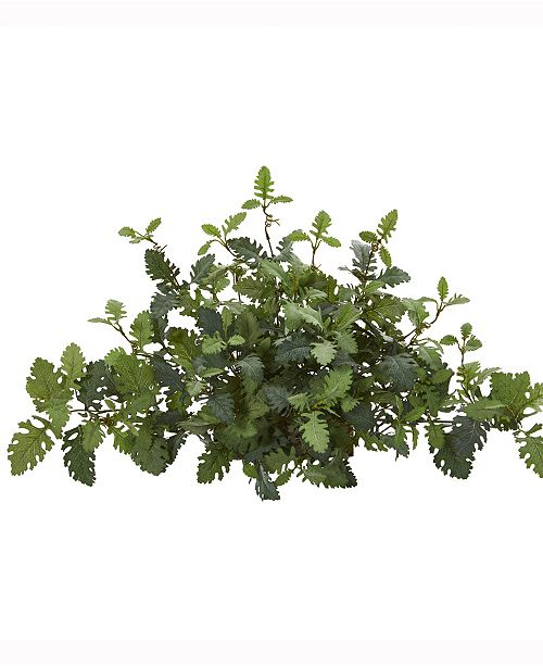 Nearly Natural 24in. Dusty Miller Artificial Ledge Plant