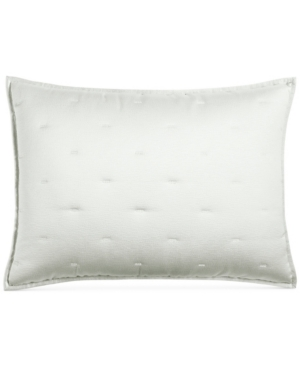 Closeout! Hotel Collection Fresco Sage Quilted King Sham, Created for Macy's Bedding