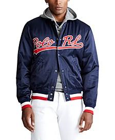 폴로 랄프로렌 Polo Ralph Lauren Mens Polo RL Baseball Jacket,Newport Navy