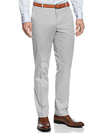 Calvin Klein Men's  Core Slim-Fit Refined Twill Pants
