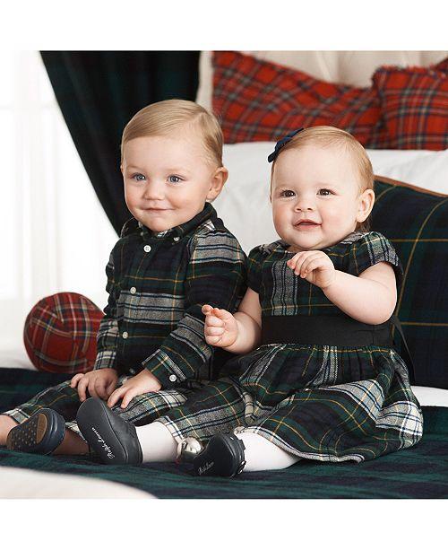 Polo Ralph Lauren Baby Boys & Girls Matching Plaid Separates