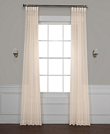 Solid Sheer Curtain Panel