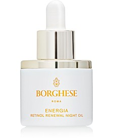 Energia Retinol Renewal Night Oil, 1 fl. oz.