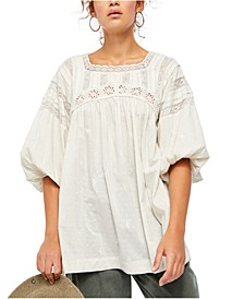 Azalea Lace Tunic Top