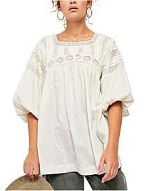 Azalea Lace Tunic Top