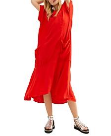 Crisp & Cool Midi Dress