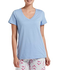 Women's V-Neck Pajama T-Shirt