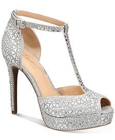 Thalia Sodi Chace T-Strap Platform Heels, Created for Macy's